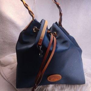 Authentic navy Dooney & Bourke purse handbag